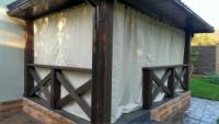 Защитные шторы для беседок, из самых прочных тканей, Украина