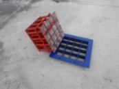 Матрица «Кирпичик 100х100 х16″ для тротуарной плитки