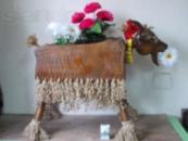 Деревянные декоративные фигуры для сада (ручная работа)