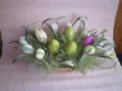 Пасхальная корзинка « Весенняя зелень»