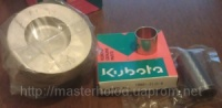 Поршень с кольцами Kubota V2203 DI std 25-39111-01