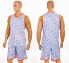 Форма баскетбольная мужская CAMO LD-8003-1 серый