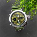 Часы наручные AMST 3003 Silver-Green Green Wristband