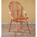 Кресло плетеное из лозы «Ракушка малая»