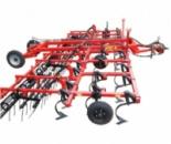 Культиватор КПГ-8.2 паровый прицепной сплошной обработки почвы с гребенкой и катком