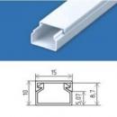 Кабельний канал 15х10 (200 м.п./уп) пластиковый с крышкой
