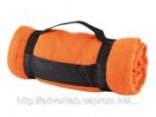 Плед оранжевый под нанесение
