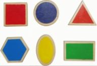 Набор «Основные геометрические фигуры», HEGA