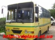 Лобовое стекло для автобусов Isuzu MD 22 в Никополе