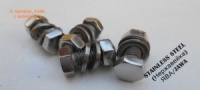 Болты гос номера [ СТОК ] ЯВА/JAWA 638/634 НЕРЖАВЕЙКА ( stainless steel )