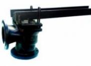 Клапан предохранительный рычажно-грузовой чугунный фланцевый двухрычажный 17Ч19БР/НЖ