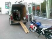 Перевозка мотоциклов, перевозка мопедов, перевозка мото салонов