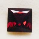 Гранат пироп натуральный, квадрат 8х8 мм
