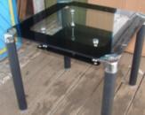 Кухонные стеклянные столы B206-3, стол стеклянный для кухни B206-3 киев от ЮКОР