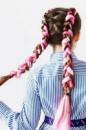 Канекалоновые цветные косички-модный хит 2017 ода.