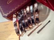 Браслет Cartier Love роз.золото 19 см