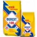 Клей для плитки Ферозіт 100 25 кг
