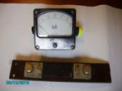Амперметр КА М4200 с шунтом 75ШСМ3-100-05 Б/У