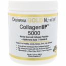 California Gold Nutrition, Collagen UP 5000, Marine Sourced Collagen Peptides + Hyaluronic Acid + Vitamin C