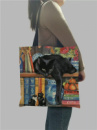 Сумка шоппер для любителей котов Два рисунка