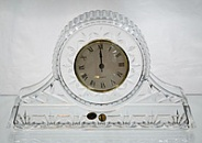 Хрустальные настольные часы Bohemia