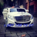Электромобиль Mercedes S600 колеса EVA