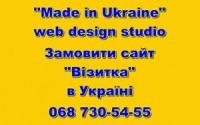 Сайт «Визитка» заказать в Украине