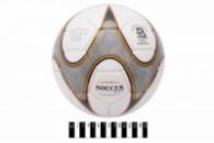 М`яч футбол. лакований «SOCCER CITY» (4-ох шарове покриття, латексна камера)