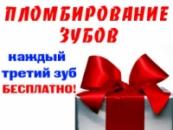 Акция « Пломбирование корневых каналов зубов в подарок »