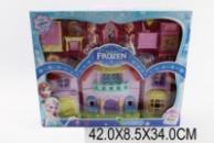 Будинок «F» 8080-2(1271030) (24шт/2) світло,муз,с 2 ляльки, меблі, в кор. 42*9*34см
