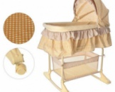 Кроватка-люлька Bambi M 1542 Бежевый
