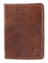 Обложка на паспорт GRANDE PELLE 00231 кожа Коричневая (00231)