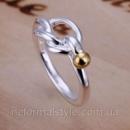 Tiffany кольцо «узелок» (покрытие серебро 925).