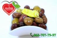 Оливки «Ассорти» разные с косточкой