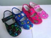 Тапочки для дома и садика (текстильная обувь)