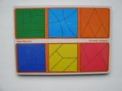 Склади квадрат Нікітіна 3 рівень