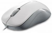 Мышь RAPOO N1130 оптическая проводная USB, белый и серый
