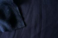 Футер трехнитка темно синяя, купить оптом от рулона