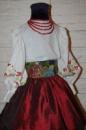 Украинский костюм для девочки ПРОКАТ