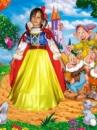 Белоснежка - детский карнавальный костюм на прокат