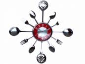 Часы настенные «Столовые Приборы»