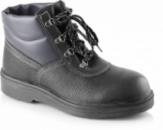 Ботинки из натуральной кожи с мягкой манжетой