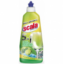 Ополаскиватель для посудомоечных машин Scala Brilliante 5in1 Limone 8006130504458 500 мл