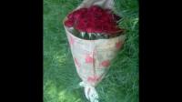 21 червона троянда - доставка квітів Івано-Франківськ