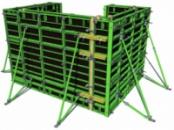 Вертикальная опалубка VARIMID (средняя, 60 кН/м²)