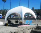 Шатер палатка «PARK 350» 3,5х3,5 Белая. Палатка выставочная. 4х гранная. Киев