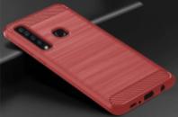 TPU чехол iPaky Slim Series для Samsung Galaxy A9 (2018) Красный
