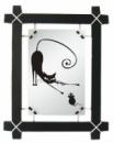 Картина - зеркало Черная Кошка