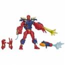 Marvel Super Hero Mashers Electronic Iron Spider Figure Разборный Железный Паук
