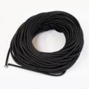 Жгут спортивный резиновый в тканевой оплетке ( резина, d-10 мм, 600 см, черный )